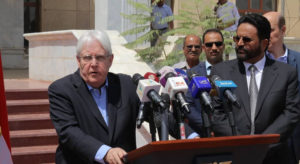 Yemen: UN envoy calls for 'immediate and unconditional' freeze on military activities