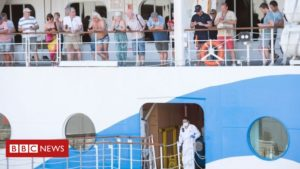Coronavirus: Tourists quarantined on cruise ship Aidamira off South Africa