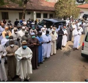 Court To Hear Case Against Top Government Officials Who Violated Safety Precautions At Abba Kyari's Burial
