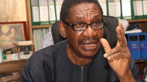 Sagay Urges Government To Relax Lockdown, Condemns Corruption In Palliatives Distribution