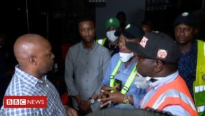 Coronavirus in Lagos: Enforcing lockdown in Africa's biggest city