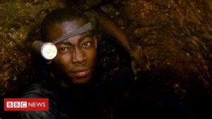 Gold mining in Ghana: Going underground with a child miner