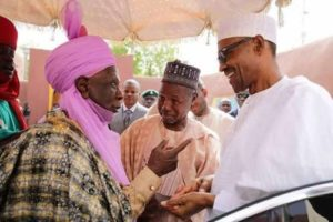 """Buhari Sends """"Get Well Soon"""" Message To Emir Of Daura, Confirms SaharaReporters' Story On Monarch"""