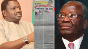 President Buhari's Spokesperson, Femi Adesina, Makes Desperate Moves To Mend Relationship With New Chief Of Staff To President, Gambari, 12 Years After Damning Newspaper Article On Him