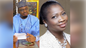 My Boss'll Not Shake Hands With Any Woman He Isn't Married To, Nigeria's Communications Minister's Aide Tells Abike Dabiri-Erewa As Crisis Continues