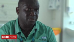 Cleaning a coronavirus ward: 'They need my support'