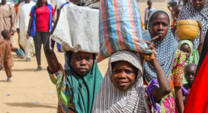 Conflict-hit Nigerian families living under COVID-19 lockdowns, on 'life-support' |