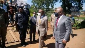 Smiles in NW as Minister Paul Tasong takes reconstruction project to Bamemda