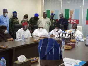 APC Moves To Reconcile Aggrieved Members As Giadom Asks Oshiomhole, Dissolved NWC Members To Learn From Mistakes