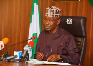 Nasarawa Governor Sacks Secretary To State Government Over Alleged Incompetence, Fraud