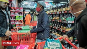 Coronavirus: South Africans cheer as alcohol goes back on sale