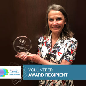 Honoring the First Recipient of the Marlene Kayser Volunteer Award – The Advocates Post