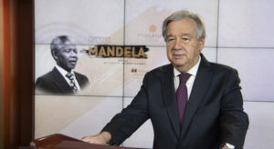 'Inequality defines our time': UN chief delivers hard-hitting Mandela day message |