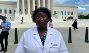 Liberal media makes nonsense of viral video by group of doctors about coronavirus