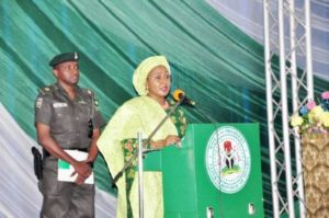 ADC, Other Security Details Of Aisha Buhari Restored