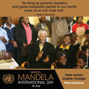 July 18: Rachel Pulfer on what Nelson Mandela means to her