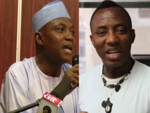Garba Shehu Attacks Sowore For Sharing Details Of Meeting Held With Late Isa Funtua, Others While In Detention