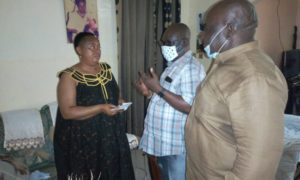 Publishers pay condolence visit to late Chief Nkemayang's family