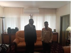 Cameroon: 15 year old 'plane inventor' gets national attention
