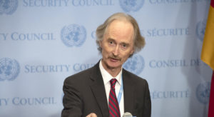 UN envoy welcomes 'commonalities' shared by Syrians in Geneva talks |