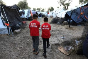 Forty-Nine Migrant Children Moved to Safety in France