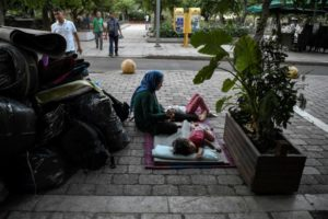From Chaos in Moria to Despair in Athens, Greece