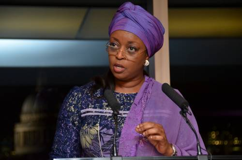 Ex- Petroleum Minister, Diezani, Says 'Yahoo Boys' Have Become Role Models