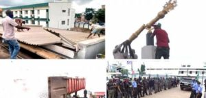 Roof Of Edo House Of Assembly Removed, Symbolic Mace Dismantled