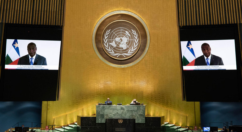CAR President calls for better representation of Africa on the Security Council |