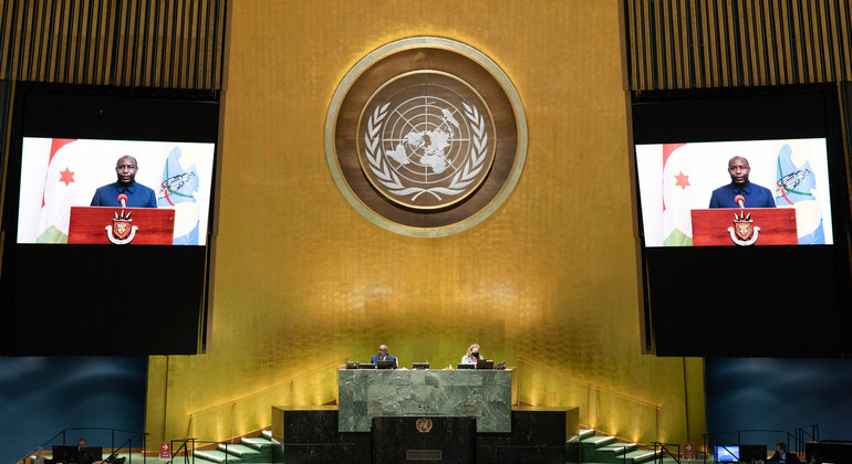 At UN Assembly, President of Burundi rejects diplomatic aggression against his country |
