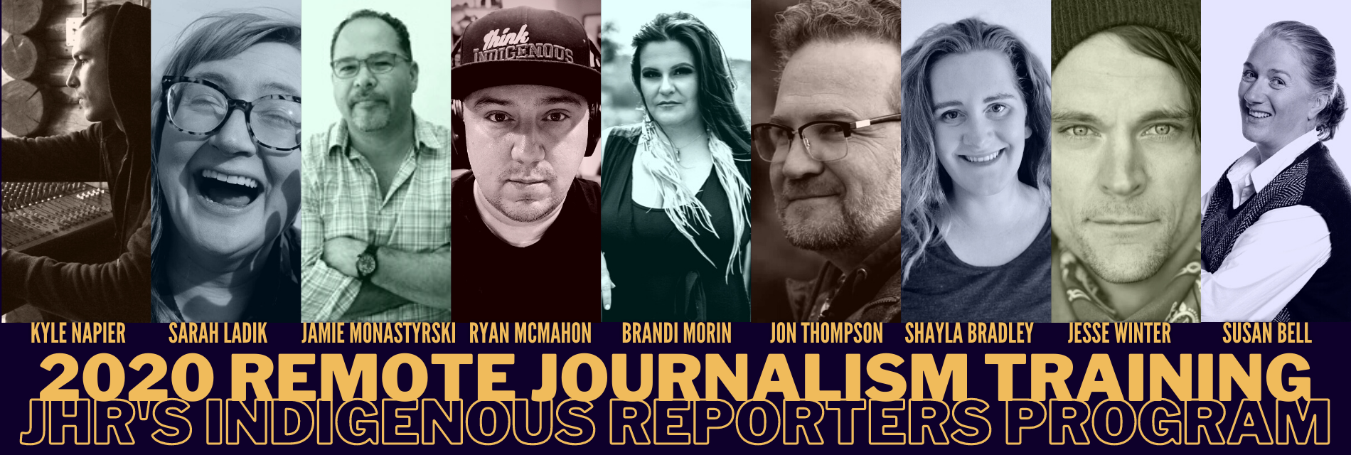 JHR's Indigenous Reporters Program Pivots to Training Communities Online