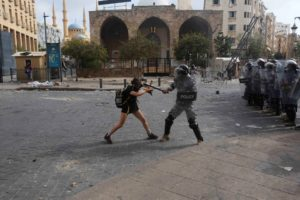 Lebanon Police Force Directs Blame for Abuse Against Protesters