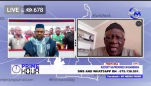 Fru Ndi To militants: Don't protest with Kamto