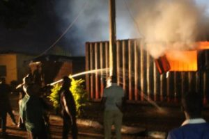 Ondo Police Begin Investigation Into Fire Outbreak At INEC Office