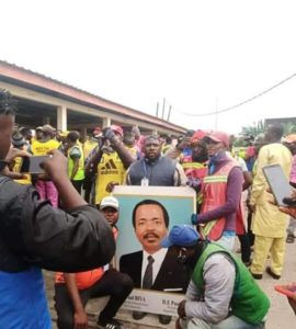 Cameroon: Pro-Biya Protest in Douala puts Yaounde in a tight corner.