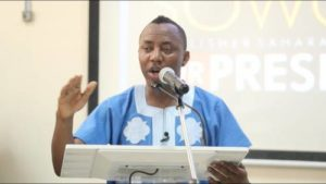 Group Condemns Sowore's Restriction To Abuja, Threat To Mailafia
