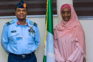 One Year After Being Rumoured To Be President Buhari's Mistress, Humanitarian Affairs Minister, Sadiya Farouq, Marries Chief Of Air Staff, Abubakar, In Secret Ceremony