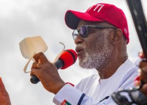 Mimiko, Ajayi No Longer Relevant, Governor Akeredolu Says Ahead Of Election