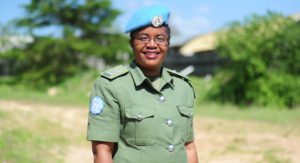 Standing up for vulnerable South Sudanese: UN woman police officer of the year |