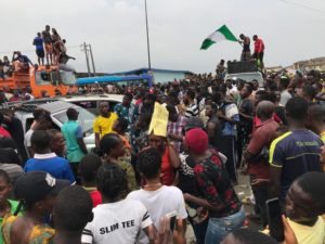 LIVE: The #ENDSARS Uprising In Nigeria