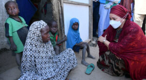 Displaced in Nigeria's restive northeast tell UN deputy chief they're 'impatient' for home |