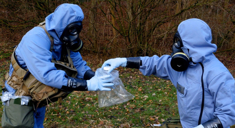 'Reasonable grounds' to believe Syrian military helicopter deployed chemical weapon: OPCW |