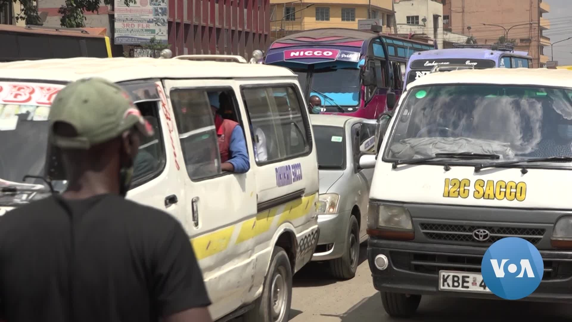 Nairobi's Iconic Minibuses Launch Contact Tracing for COVID-19 | Voice of America