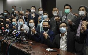 China: Beijing Forces Out Hong Kong Opposition Lawmakers