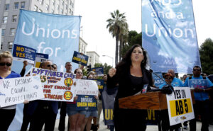 California: Prop 22 Deprives Gig Workers' Minimum Wage