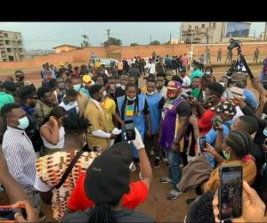 Gathering of Shame? Cameroonian Celebs Rally in Yaounde in an Event Many Don't Know its Purpose.