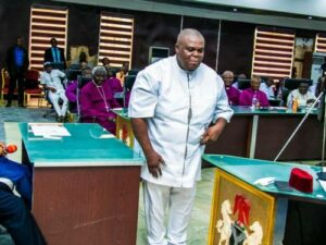 Imo Assembly Speaker, Collins, Impeached