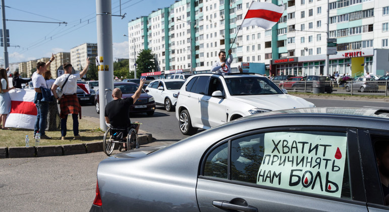 End police brutality and impunity in Belarus, rights experts urge |