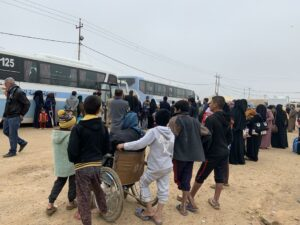 Iraq: Camp Expulsions Leave Families Homeless, Vulnerable
