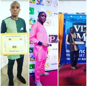 Pidgin Newscaster Smart Njikang Gabriel Honoured with Multiple Awards.